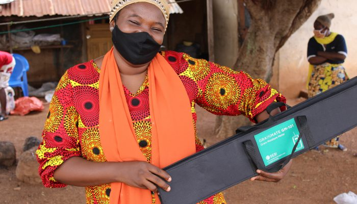 GrainMate: local technological empowerment to improve global food security